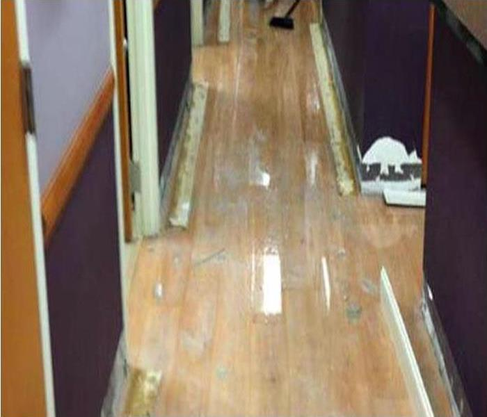 Commercial Water Damage Restoration In Mount Pleasant Before