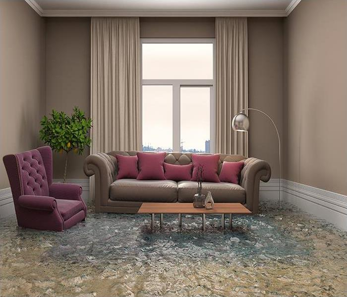 Storm Damage Your Home In Columbia Can Be Restored By Our Skilled Flood Damage Specialists At SERVPRO