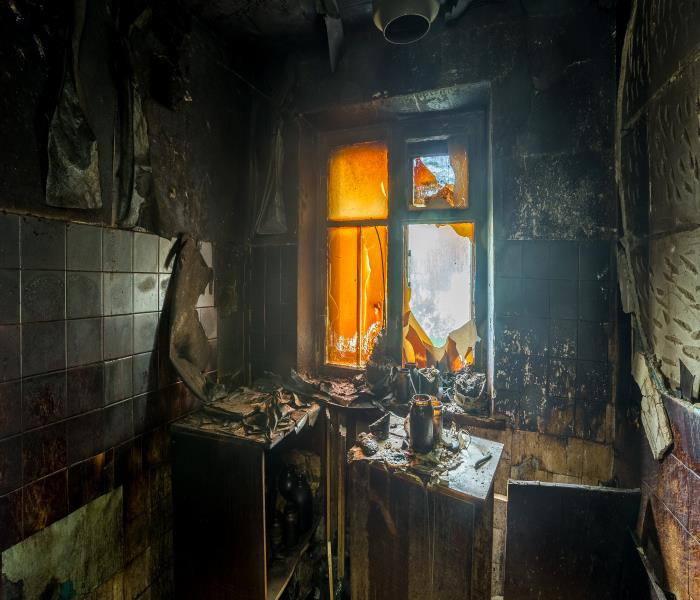 Fire Damage Don't Let Fire Damage To Your Columbia Home Stress You Out Call The Team At SERVPRO For Help!